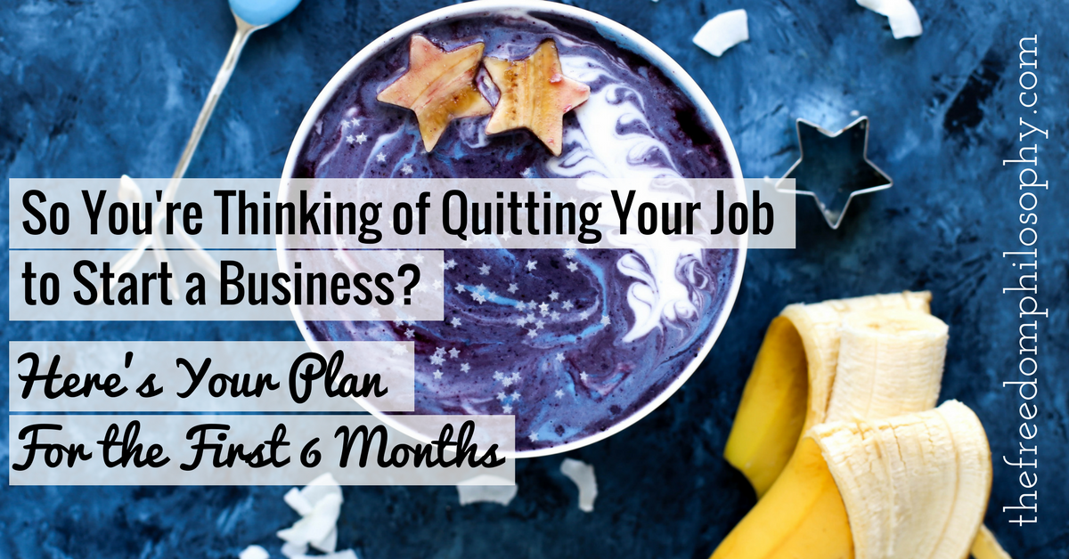 Quitting your job, Stephanie Holland, The Freedom Philosophy