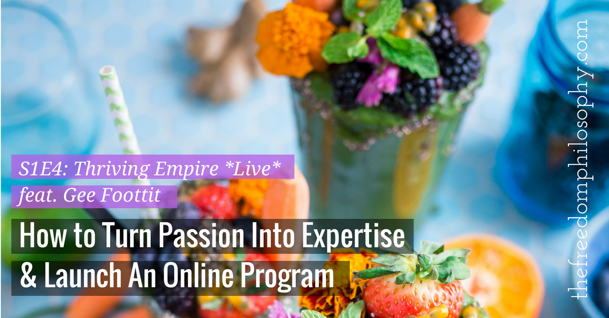 How to launch an online program, Stephanie Holland, The Freedom Philosophy